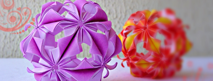 30 Absolutely Beautiful Origami Kusudamas | 312x820