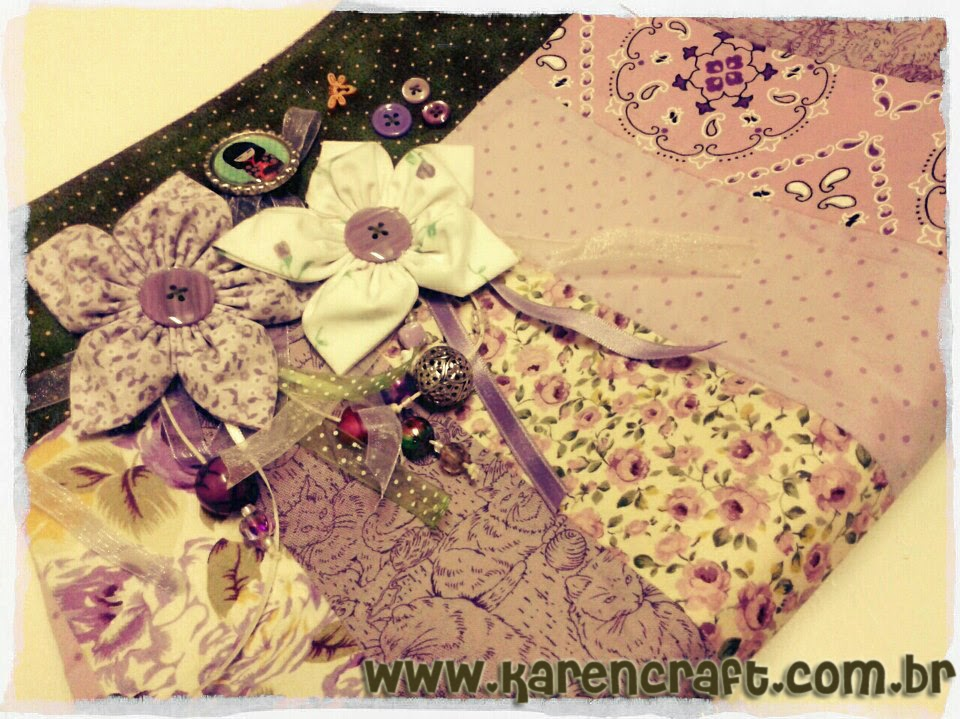patchwork bag diy simplicity flowers