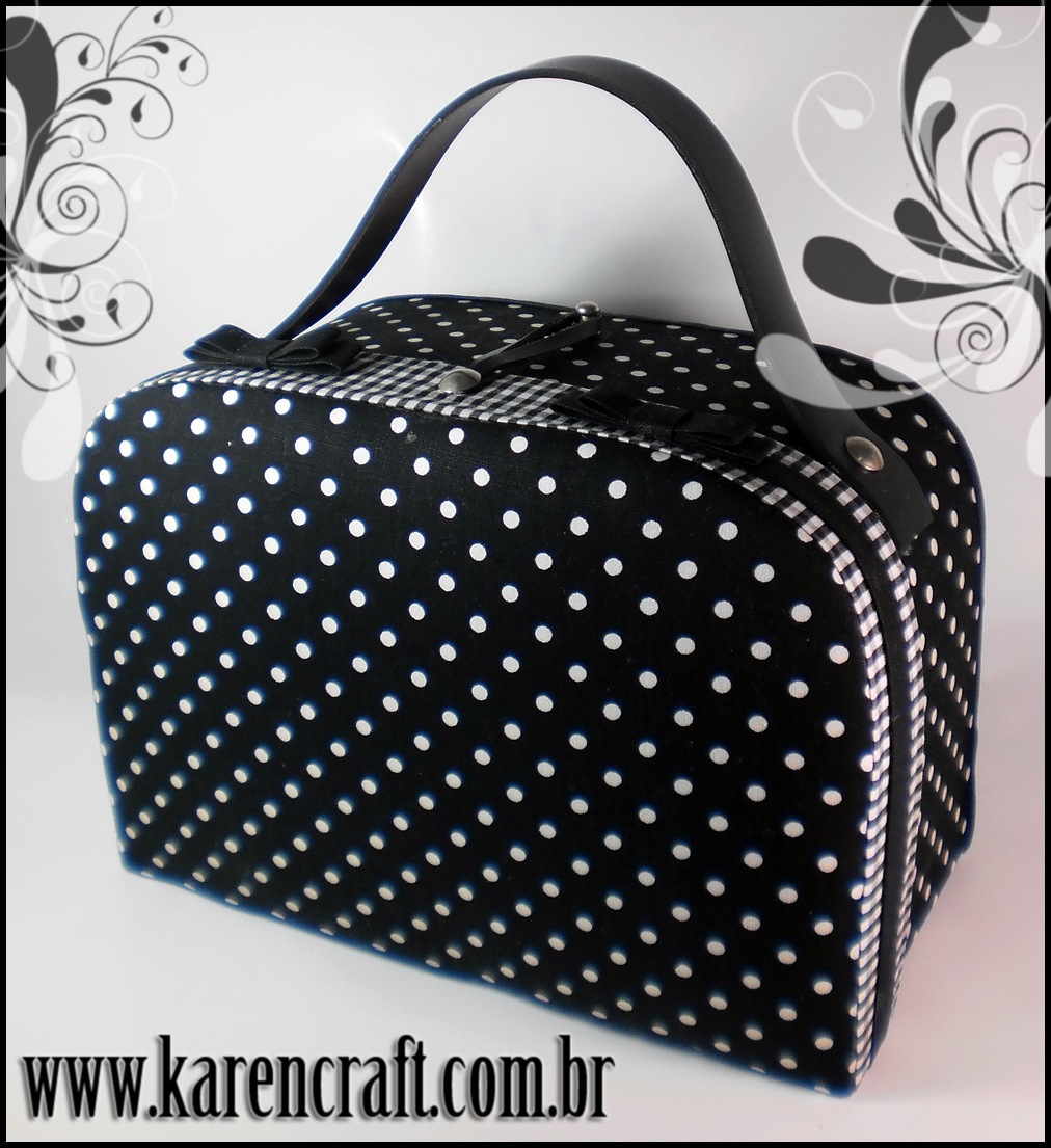 polka dot bag handbag karen tiemy cute vintage pinup