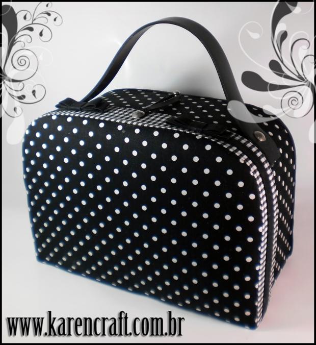 polka dot bag handbag karen tiemy cute vintage pinup