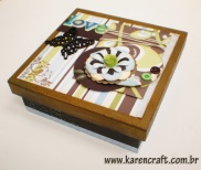 vintage wooden box diy ideas scrapbooking craft shabby chic (15)