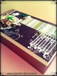 vintage wooden box diy ideas scrapbooking craft shabby chic (16)