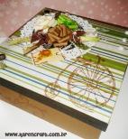 vintage wooden box diy ideas scrapbooking craft shabby chic (18)