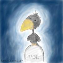 crow karen tiemy cute animal drawing kawaii illustration cartoon digital sketches 2