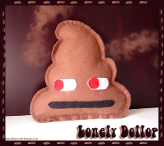 plushies softies felt projects stuffed dolls toy handmade sewing diy soft snuggly karen tiemy poo lonely dollop