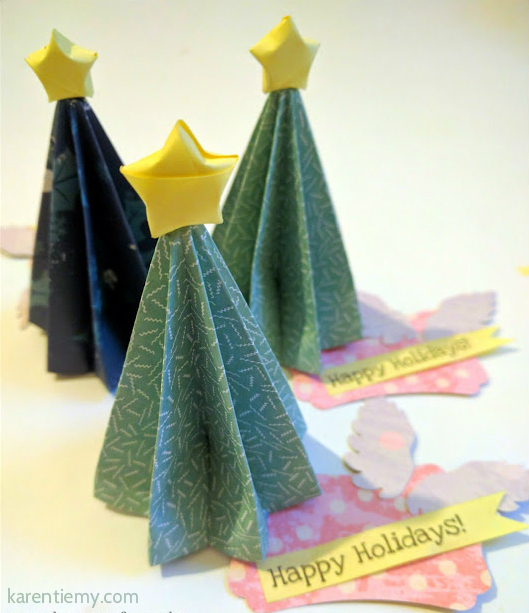 kusudama venus christmas tree origami diy ideas craft